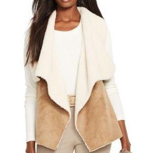 Ralph Lauren faux suede vest